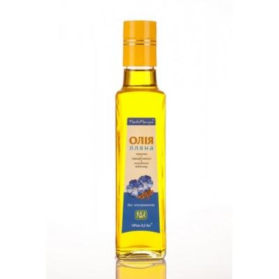 Льняное масло, 0,2 л.