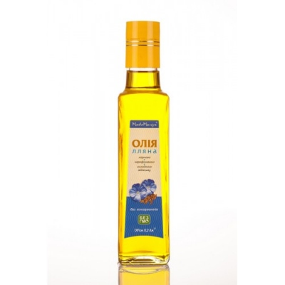 Лляна олія 0,2 л.
