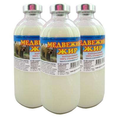 Медвежий жир, Уралвитамины, 250 мл