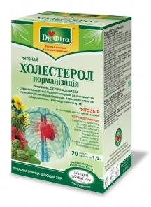 """Фиточай """"ХОЛЕСТЕРОЛ НОРМАЛІЗАЦІЯ"""""""