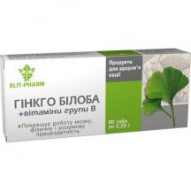 Гинкго Билоба с витамином В №80