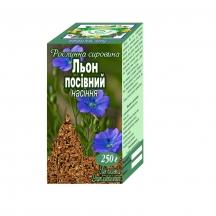 Льон посівний, насіння, 250г